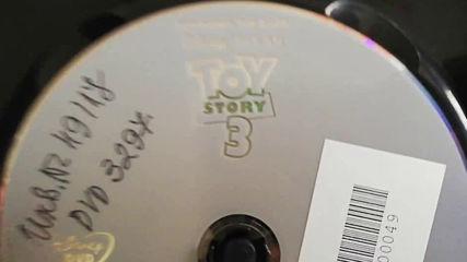 Българското Dvd издание на Играта на играчките 3 (2010) А+филмс 2010