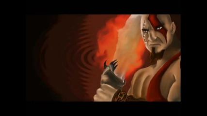 Рисуване на Kratos от God Of War