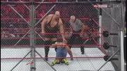 Грамадата vs. Джон Сина - мач в клетка * Wwe No Way Out 2012 *