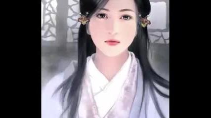 Рисунки на китайски красавици