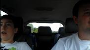 Момче се вози за първи път на Quattro