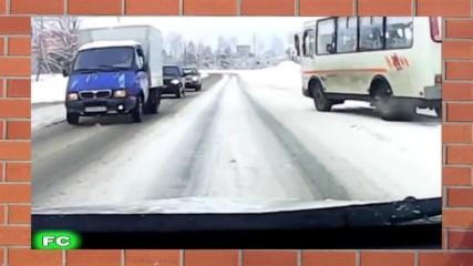 Луди катастрофи на сняг