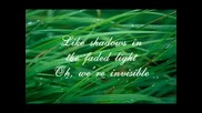 Taylor Swift - Invisible (lyrics) Vbox7