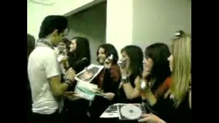 Tokio Hotel Meet and Greet Padova 26.03.2010
