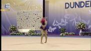 Невяна Владинова - топка - финал - Световна купа по художествена гимнастика - София 2015