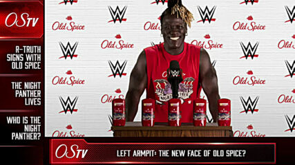 R-Truth literally inks Old Spice sponsorship with tattoo