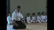 Champion Eyes Yamashita Shorin Ryu Karate Sensei Armando Anselmo Performs with Sword