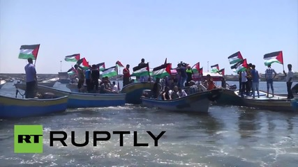 State of Palestine: Flotilla staged in Gazan waters after IDF intercept Freedom Flotilla
