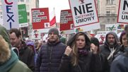 Poland: Nationalists and anarchists standoff at anti-TTIP and CETA rally in Warsaw