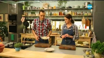 Ориз с праз и кедрови ядки - Бон Апети (10.11.2015)