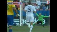 Сащ 0 - 2 Бразилия Купа на конфедерациите - гол на Робиньо 18.06.09