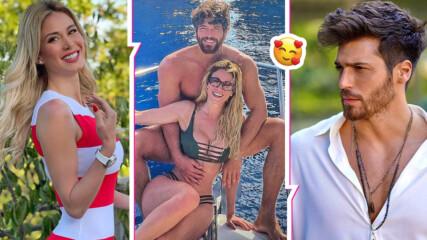 Раздяла ли? Спипаха Джан Яман и красивата италианка да се натискат на луксозна яхта в морето