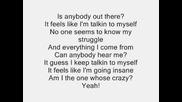 Eminem ft. Kobe - Talkin 2 Myself (lyrics, Recovery)