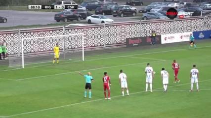 ФК Рига - ЦСКА 1:0 (3:5 след дузпи) /репортаж/