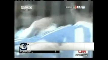 Гол на Меси от дузпа донесе на Аржентина успех с 2:1 над Португалия