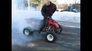 Atv 400ex Burnout