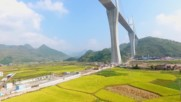 China: Drone captures breathtaking views of gargantuan Chishi bridge
