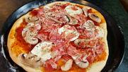Mamma mia! Превъзходна домашна пица! :)