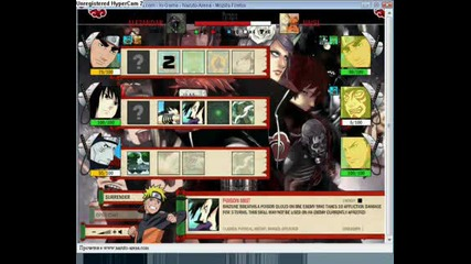 Naruto Arena - Team Test #2