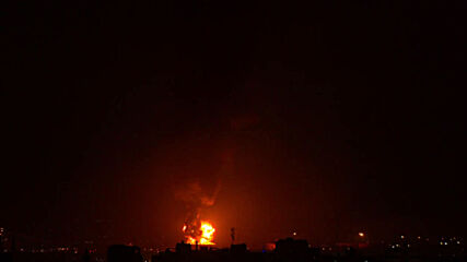 State of Palestine: Massive fire engulfs fuel tank of Israeli Eilat-Ashkelon oil pipeline following rocket attack