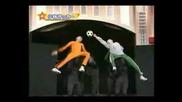 Шаолински Футбол - Пародия