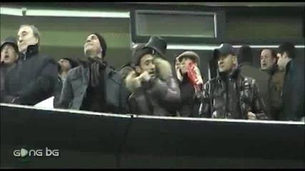Милен Радуканов и Светльо Петров танцуват Ai Se Eu Te Pego на Бернабеу! *10.12.2011г.*