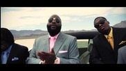 Rick Ross ft. Meek Mill, Wale - Maybach Music I I I ( Official video ) * H Q *