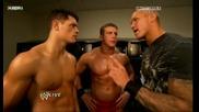 Wwe Monday Night Raw 25.01.2010 Legacy Backstage