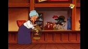 Загадките на Силвестър и Туити - Втори сезон, Трети Епизод - Не танцувай полка с мен / Баба изчезва