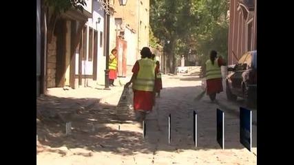 Започва масирано почистване на улиците в Стария град в Пловдив