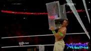 Джон Сина срещу Кейн в мач с носилка - победителят влиза в мача за титлите - Първична Сила 16/6/14