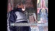 Икони на Иисус Христос в космическа ракета, привличат тълпи от посетители в Добърско