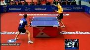Тенис на маса: Dmitrij Ovtcharov - Kalinikos Kreanga