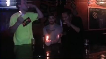 Идиоти пият огнени шотове