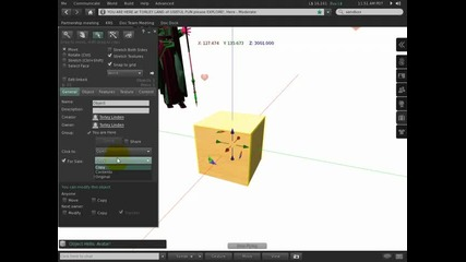 Click actions make using stuff easier - Second Life Viewer 2 Tutorial