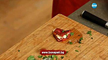 Пълнени чушки с яйца и сирене - Бон Апети (04.08.2017)