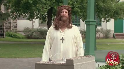 Исус превърна водата във вино - Скрита камера