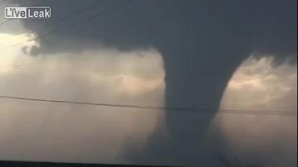 Торнадо в Розуел 18.05.2013