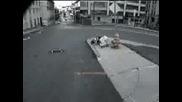 Skateboarding Bails - Nutcracker