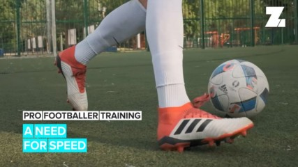 Pro Footballer Traning: A Need For Speed