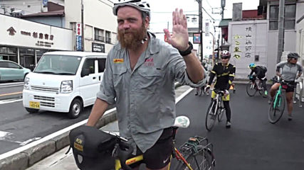 Cyclists ride 20,000 km to deliver Rugby World Cup whistle to Japan