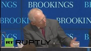 """USA: Schaeuble """"would be happy"""" if Greece will finds money elsewhere"""