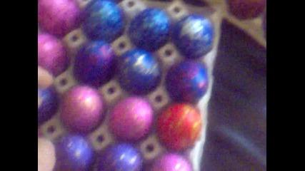 Дървени яйца ! Ръчна изработка !