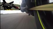 337 кмч на задна гума в продължение на 1 километър. Suzuki Hayabusa - 540 кс.