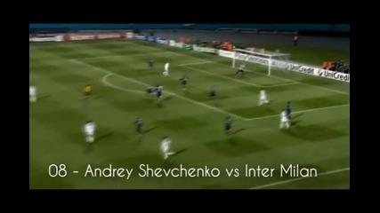 Топ 15 гола - Шампионска лига 2010