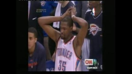 """""""Оклахома"""" победи с 93:91 """"Мемфис"""" в плейофите на НБА"""