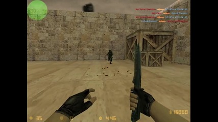 Counter-strike 1.6 on Steam Knife Gameplay