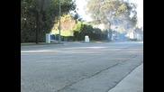 Mercedes E - Class Amg Start And Burnout!!! *HQ*