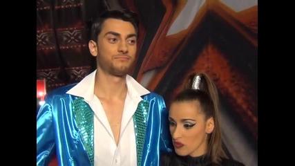 X Factor Теди и Иван зад кулисите Live концерт - 05.12.2013 г