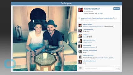 David Beckham Joins Instagram, Celebrates 40th Birthday With Victoria, Kids and Friends